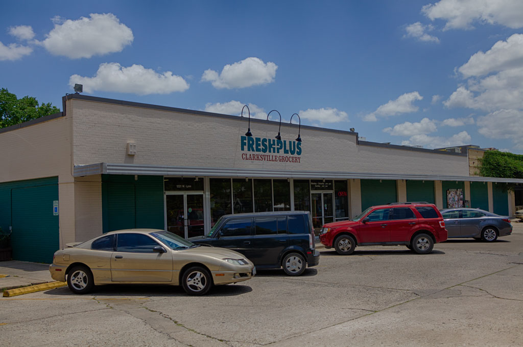 clarksville neighborhood grocery store Austin